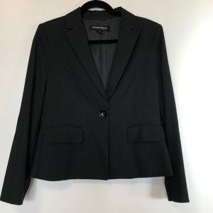 Textured black Nanette Lepore blazer.  Sz 8.